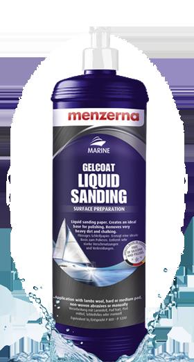 Marine Gelcoat Liquid Sanding